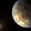 This artist\'s rendering provided by NASA on Thursday, April 17, 2014 shows an Earth-sized planet dubbed Kepler-186f orbiting a star 500 light-years from Earth. Astronomers say the planet may hold water on its surface and is the best candidate yet of a habitable planet in the ongoing search for an Earth twin. (AP Photo/NASA Ames, SETI Institute, JPL-Caltech, T. Pyle)