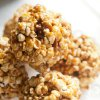 Popcorn is a centuries-old simple food that has gone gourmet. Chef Joe Truex of Atlanta makes Glady\'s Popcorn Balls which are bacon-studded. (Renne Brock/Atlanta Journal-Constitution/MCT)