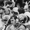 On field Oct. 31, 1976: Oklahoma State University (OSU) football coach Jim Stanley