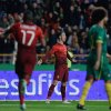 Photo - Portugal's Cristiano Ronaldo celebrates after scoring the opening goal during their friendly soccer match with Cameroon Wednesday, March 5 2014, in Leiria, Portugal. The game is part of both teams' preparation for the World Cup in Brazil. (AP Photo/Armando Franca)