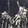 Photo - UNIVERSITY OF OKLAHOMA / OKLAHOMA STATE UNIVERSITY: 1988 OU vs OSU Bedlam college football pics for  Todd Pendleton  photo copies from newspaper.   OSU's Mike Gundy unleashes a fourth-down pass to Brent Parker with less than a minute to go in the fourth quarter Saturday. Published 11/06/1988. Staff Photo by David McDaniel. ORG XMIT: kod