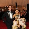 Hamish Bowles and Sarah Jessica Parker attend The Metropolitan Museum of Art\'s Costume Institute benefit celebrating