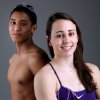 HIGH SCHOOL SWIMMING: Pool Party 2K10 All-City swimming cover- Heritage Hall\'s Narayan Naik and Bishop McGuinness\' Lizzy Whitbeck pose at The Oklahoman\'s studios in Oklahoma City on Wednesday, March 31, 2010. Photo by John Clanton, The Oklahoman ORG XMIT: KOD
