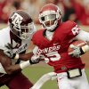 Ryan Broyles tries to avoid Texas A&M\'s Terrence Frederick (7) during the first half of the college football game between the Texas A&M Aggies and the University of Oklahoma Sooners (OU) at Gaylord Family-Oklahoma Memorial Stadium on Saturday, Nov. 5, 2011, in Norman, Okla. Photo by Steve Sisney, The Oklahoman