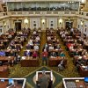 Crowd fills House chamber at Oklahoma Capitol...