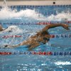Edmond Memorial\'s Naresh Naik swims in the Boy\'s 100-yard freestyle during the 6A state championship swim meet at Oklahoma City Community College, Saturday, Feb. 18, 2012. Photo by Sarah Phipps, The Oklahoman