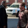 Photo - This undated publicity photo released by Lionsgate shows Forest Whitaker, left, as Agent John Bannister, and Arnold Schwarzenegger, as Ray Owens, in a scene from the film,