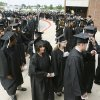 Graduates line up outside the Hamilton Fieldhouse during the graduation ceremonies at the University of Central Oklahoma in Edmond, OK, Friday, May 8, 2009. BY PAUL HELLSTERN, THE OKLAHOMAN
