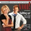 Photo - Graphic with photo: Splitting up! (photo of husband and wife) - Photo: Jim Beckel; Cover design: Steve Boaldin; YOU model in the studio, Monday, July 14, 2008.   Cover models:  Casey Greaves and Kyle Roberts  BY JIM BECKEL, THE OKLAHOMAN ORG XMIT: KOD