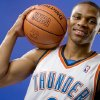 NBA BASKETBALL TEAM: Russell Westbrook of the Oklahoma City Thunder poses for a portrait during Thunder media day on Monday, September 29, 2008. BY BRYAN TERRY, THE OKLAHOMAN ORG XMIT: KOD