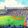 Photo - This artist rendering provided by the Atlanta Braves shows the team's proposed new ballpark in Cobb County. The Braves say the stadium will seat 41,500 and include plenty of revenue-generating amenities around the ballpark. The stadium is scheduled to open in 2017, replacing Turner Field. (AP Photo/Atlanta Braves)