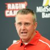 Photo - Louisiana Lafayette football coach Mark Hudspeth speaks to the media during NCAA college football media day in Lafayette, La., Wednesday, Aug. 10, 2011.(AP Photo/The Lafayette Daily Advertiser, Brad Kemp)  NO SALES ORG XMIT: LALAF103