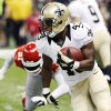Photo -   New Orleans Saints running back Darren Sproles (43) carries in the first half of an NFL football game against the Kansas City Chiefs in New Orleans, Sunday, Sept. 23, 2012. (AP Photo/Bill Haber)