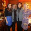 Kim Riley, Jenifer Stehr, Nicole Blad, Amy McDougall were at the party in Cristi Reiger\'s home. They are part of the incoming Junior League board. (Photo by Helen Ford Wallace).