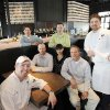 Republic Gastropub at Classen Curve opened Monday. Shown are, seated left to right, Luke Fry, Jason Ewald, Ariana Khalilian and Kurt Shewmaker and, standing, Keith Paul, Jordan Winteroth and Robert Black. Photo by David McDaniel, The Oklahoman