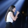 """Photo - Lorde performs """"Royals"""" at the 56th annual Grammy Awards at Staples Center on Sunday, Jan. 26, 2014, in Los Angeles. (Photo by Matt Sayles/Invision/AP)"""