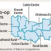 POWER OUTAGES / GRAPHIC / MAP / ILLUSTRATION: Electric co-op outages