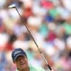 Photo - Tom Watson of the US plays a shot off the 4th tee during the second day of the British Open Golf championship at the Royal Liverpool golf club, Hoylake, England, Friday July 18, 2014. (AP Photo/Scott Heppell)