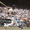 Photo - San Francisco Giants' Madison Bumgarner hits an RBI single off St. Louis Cardinals starting pitcher Carlos Martinez in the third inning of their baseball game Thursday, July 3, 2014, in San Francisco. (AP Photo/Eric Risberg)