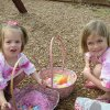Rylee & Raegan Reece at the Oaktree Park Homeowner\'s Easter Egg Hunt on 3/22/08 Community Photo By: pia allen Submitted By: michael, edmond