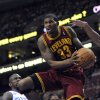 Photo -   Cleveland Cavaliers' Alonzo Gee (33) drives past Philadelphia 76ers' Jason Richardson (23) during the first half of an NBA basketball game on Sunday, Nov. 18, 2012, in Philadelphia. (AP Photo/Michael Perez)