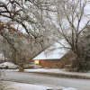 Snow in Edmond Wednesday morning. Photo by Doug Hoke, The Oklahoman