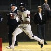 Cascia Hall\'s Abram McQuarters scores the Commandos\' second touchdown during the Class 3A quarterfinals between Bethany and Cascia Hall in Bethany, Friday, November 25, 2011. PHOTO BY HUGH SCOTT, FOR THE OKLAHOMAN