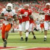 OSU\'s Dantrell Savage (22) runs for a touchdown as Nebraska defenders follow, including Bryan Wilson (9) and Phillip Dillard (52), in the fourth quarter during the college football game between Oklahoma State University (OSU) and the University of Nebraska (NU) at Memorial Stadium in Lincoln, Neb., Saturday, October 13, 2007. OSU won, 45-14. By Nate Billings, The Oklahoman ORG XMIT: KOD