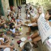 Photo - Diatetic Intern Ivy Tran conducts a nutrition class for young girls at Camp Endres, a diabetes camp held at Camp Classen in Davis, OK, Thursday, July 31, 2008. BY PAUL HELLSTERN, THE OKLAHOMAN ORG XMIT: KOD