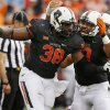 NFL Draft: The Cleveland Browns select Oklahoma State's Emmanuel Ogbah with the 32nd overall pick