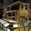 The remains of New York City Fire Dept. truck from Engine Company 21 are displayed at the National Sept. 11 Memorial Museum, Wednesday, May 14, 2014, in New York. The museum is a monument to how the Sept. 11 terror attacks shaped history, from its heart-wrenching artifacts to the underground space that houses them amid the remnants of the fallen twin towers\' foundations. It also reflects the complexity of crafting a public understanding of the terrorist attacks and reconceiving ground zero. (AP Photo)