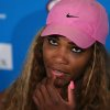 Photo - Serena Williams of the U.S. speaks during a press conference after her fourth round loss to Ana Ivanovic of Serbia at the Australian Open tennis championship in Melbourne, Australia, Sunday, Jan. 19, 2014. (AP Photo/Shuji Kajiyama)