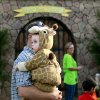 Dressed as a giraffe, Caleb Marsh, age 1, waits to get into the front gate at Story Book Forest at Arcadia Lake in Edmond on Tuesday, Oct. 25, 2011. Photo by John Clanton, The Oklahoman