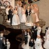 WEDDING SHOWER....The collection of bride and groom cake toppers. (Photo by Helen Ford Wallace).