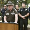 Colonel Kerry Pettingill, OHP Chief of Patrol, announces a campaign for safe driving called