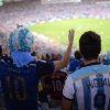 Photo - Argentina fans cheer for their team during the final World Cup match between Argentina and Germany at the at Maracana Stadium in Rio de Janeiro, Brazil, Sunday, July 13, 2014. (AP Photo/Manu Fernandez)