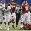 Oklahoma\'s Eric Striker was pegged as a future first-round pick in a Sports Illustrated 2015 mock draft. Photo by Chris Landsberger, The Oklahoman
