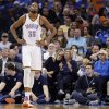 Oklahoma City Thunder\'s Kevin Durant (35) reacts to a turnover during the NBA basketball game between the Oklahoma City Thunder and the Utah Jazz at Chesapeake Energy Arena on Wednesday, March 13, 2013, in Oklahoma City, Okla. Photo by Chris Landsberger, The Oklahoman