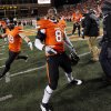 OSU\'s Daytawion Lowe (8) reacts at the end of the Bedlam college football game between the Oklahoma State University Cowboys and the University of Oklahoma Sooners at Boone Pickens Stadium in Stillwater, Okla., Saturday, Dec. 3, 2011. OSU beat OU, 44-10. Photo by Nate Billings, The Oklahoman