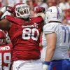 Photo -  Defensive tackle Jordan Phillips will have season-ending surgery on his back.
