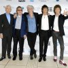 This Oct. 18, 2012 file photo shows, from left, Charlie Watts, Bill Wyman, Keith Richards, Ronnie Wood and Mick Jagger of The Rolling Stones at London Film Festival American Express Gala for their film,