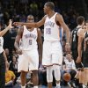 EJECTED / EJECTION: Oklahoma City\'s Kevin Durant (35) yells at the official before being thrown out of the game during the NBA basketball game between the Oklahoma City Thunder and the Brooklyn Nets at the Chesapeake Energy Arena on Wednesday, Jan. 2, 2013, in Oklahoma City, Okla. Photo by Chris Landsberger, The Oklahoman