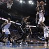 Thunder\'s Reggie Jackson (15) drives in the first half of an NBA basketball game where the Oklahoma City Thunder were defeated 95-93 by the Brooklyn Nets at the Chesapeake Energy Arena in Oklahoma City, on Thursday, Jan. 2, 2014. Photo by Steve Sisney The Oklahoman