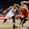 Houston Rockets\' Jeremy Lin (7) defends against Oklahoma City Thunder\'s Russell Westbrook (0) in the first half of an NBA basketball game, Wednesday, Feb. 20, 2013, in Houston. (AP Photo/Pat Sullivan) ORG XMIT: HTR104