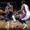 Oklahoma City\'s Kevin Durant (35) passes around Detroit\'s Rodney Stuckey (3) during an NBA basketball game between the Detroit Pistons and the Oklahoma City Thunder at the Chesapeake Energy Arena in Oklahoma City, Friday, Nov. 9, 2012. Oklahoma City won, 105-94. Photo by Nate Billings, The Oklahoman