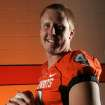 Quarterback Brandon Weeden poses for a photo during Oklahoma State University football media day in Stillwater, Okla., Saturday, August 2, 2008. PHOTO FROM THE OKLAHOMAN ARCHIVE