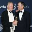 "Jon Voight, left, and James Haven arrive at the 15th annual InStyle and Warner Bros. Golden Globes after party at the Beverly Hilton Hotel on Sunday, Jan. 12, 2014, in Beverly Hills, Calif. Voight won the award for best supporting actor in a series, mini-series or TV movie for his role in ""Ray Donovan."" (Photo by Matt Sayles/Invision/AP)"