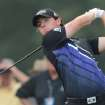 Rory McIlroy of Northern Ireland tees off on the tenth hole of The Barclays PGA golf tournament at Bethpage State Park in Farmingdale, N.Y., Thursday, Aug. 23, 2012. (AP Photos/Henny Ray Abrams)