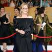 Meryl Streep arrives at the 20th annual Screen Actors Guild Awards at the Shrine Auditorium on Saturday, Jan. 18, 2014, in Los Angeles. (Photo by Jordan Strauss/Invision/AP)