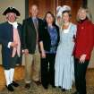 Past and present Oklahoma Foundation for Excellence presidents were among those attending festivities at the Oklahoma History Center celebrating the 20th anniversary of the educational partnership between the foundation and Colonial Williamsburg. Pictured (from left) are Chip Oppenheim of Oklahoma City, Steve Holton of Poteau, Susie Thurmond of Cheyenne, current president Patti Mellow of Oklahoma City and president-elect Les Risser of Norman.(Photo by Brenda Wheelock).